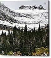 Glacier Park Bowlrock Acrylic Print