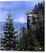 Glacier Point From Four Mile Trail Acrylic Print