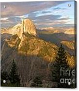 Glacier Point Glow Acrylic Print