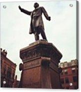 Gladstone, Hailing A Cab? Acrylic Print