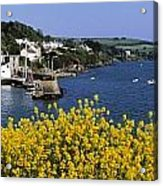 Glandore Village & Harbour, Co Cork Acrylic Print