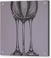 Glass 1 Acrylic Print