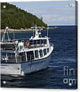 Glass Bottom Boat Acrylic Print