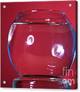 Glass Bowl Before Impact 1 Of 3 Acrylic Print