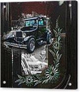 Glass Etching Classic Acrylic Print