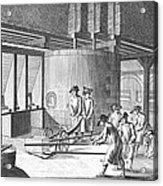 Glass Manufacture, 1751 Acrylic Print