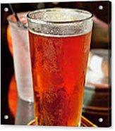 Glass Of Beer Acrylic Print