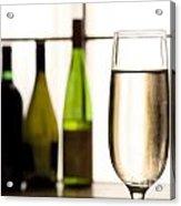 Glass Of Champagne Acrylic Print