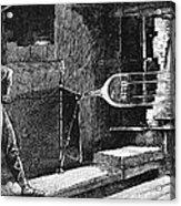 Glassworker, 19th Century Acrylic Print