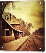 Glencoe Train Station Acrylic Print