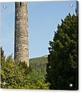 Glendalaugh Round Tower 10 Acrylic Print