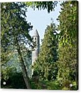 Glendalaugh Round Tower 11 Acrylic Print