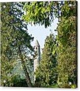 Glendalaugh Round Tower 12 Acrylic Print