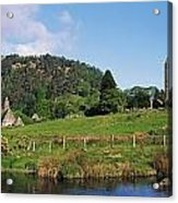 Glendalough, Co Wicklow, Ireland Saint Acrylic Print