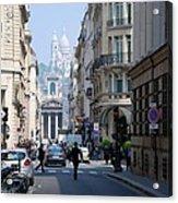 Glimpse Of Montmartre Acrylic Print