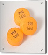 Glipizide, Drug For Type II Diabetes Acrylic Print