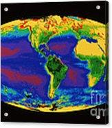 Global Biosphere Acrylic Print