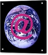 Global Communications Acrylic Print