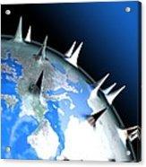 Global Pandemic, Conceptual Artwork Acrylic Print