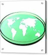 Global Research, Conceptual Image Acrylic Print