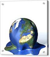 Global Warming, Conceptual Image Acrylic Print