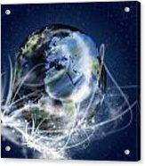 Globe Acrylic Print