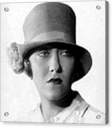 Gloria Swanson, 1927 Acrylic Print by Everett