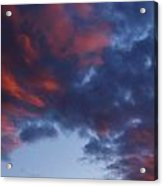 Glorious Clouds Acrylic Print