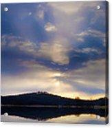 Glorious Skies Acrylic Print