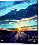 Glory Of The Sunset 2 Acrylic Print