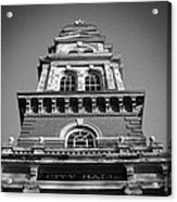Gloucester City Hall Acrylic Print by Matthew Green