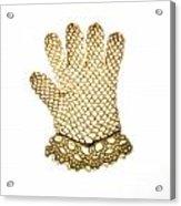 Glove Acrylic Print by Bernard Jaubert