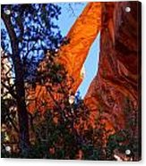 Glowing Arch Acrylic Print by Scott McGuire