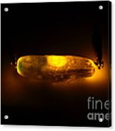 Glowing Electric Pickle 2 Of 2 Acrylic Print by Ted Kinsman