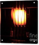 Glowing Filament 3 Of 3 Acrylic Print