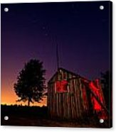Glowing Shed Acrylic Print