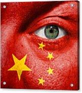 Go China Acrylic Print