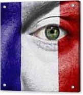 Go France Acrylic Print by Semmick Photo