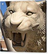 Go Get 'em Tigers Acrylic Print