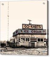 Go-karts - Wildwood New Jersey Acrylic Print