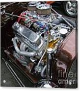 1938 Ford Roadster Go Power Acrylic Print
