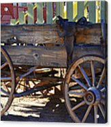 Go West Acrylic Print