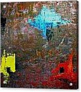Goan Colorful Soil Acrylic Print