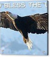God Bless The Usa 2 Acrylic Print