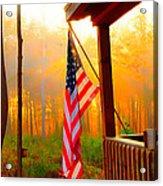 God Country Home Acrylic Print