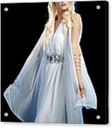 Goddess Acrylic Print by Cindy Singleton
