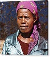 Godmother Of Ethiopia Acrylic Print