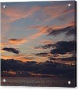 God's Evening Painting Acrylic Print