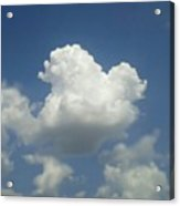 #god's Perfect Sculpting Skill #sky Acrylic Print