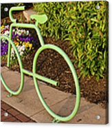 Going Green Acrylic Print by Marianne Campolongo